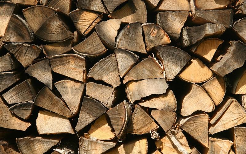 Wicanders Gestapelte Holzscheite Eichenholz