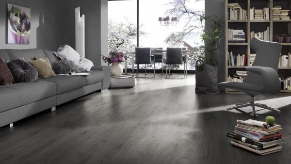 Parkettboden dunkelgrau  Laminat Kronotex D3571 Robusto - Timeless Oak Grau | Preisbrecher ...
