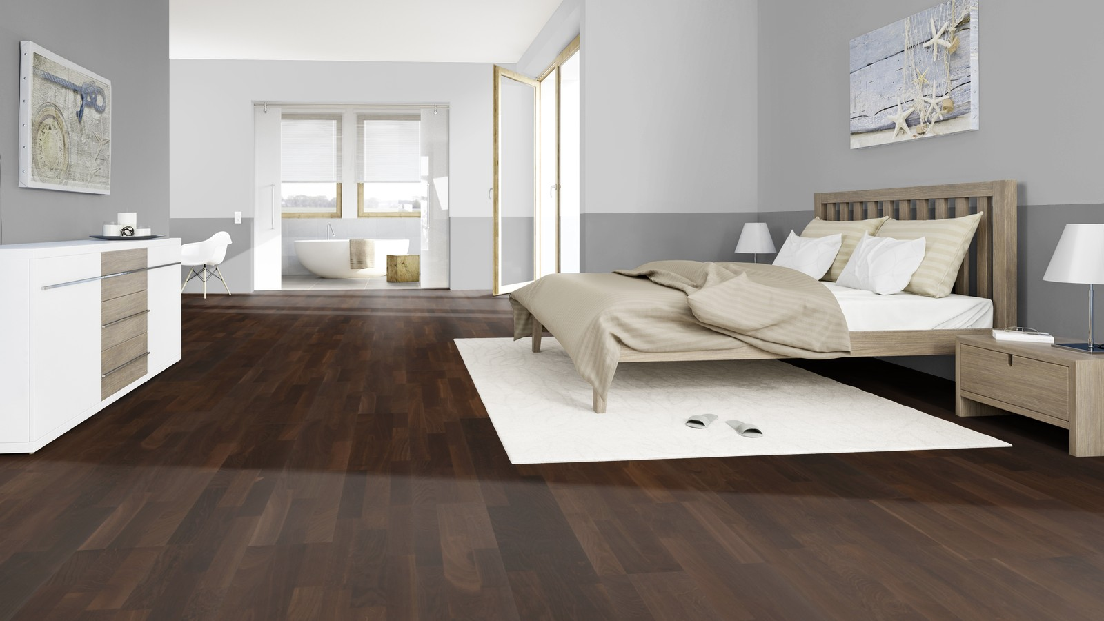 ter h rne straight collection l parkett d21 eiche tabakbraun schiffsboden preisbrecher. Black Bedroom Furniture Sets. Home Design Ideas